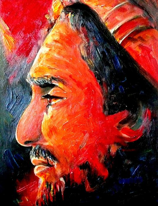 Ahmad Shah Massoud par mariebouldingue